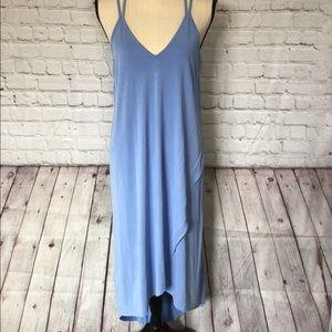 NWT Lush blue midi dress